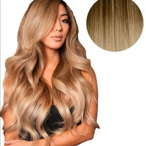 "Bellami 22"" Clip-in Hair Balayage Extensions"